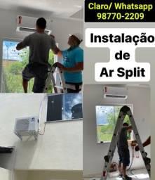 Instalação de Ar Condicionado Split - Jardim Primavera e Imbariê