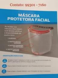 Máscara Viseira de Proteção Facial - A Pronta Entrega