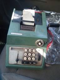 Calculadora antiga caixa de estabelecimento comercial