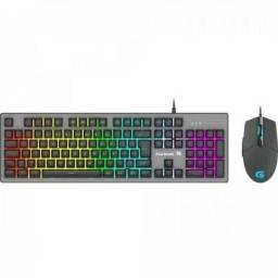Combo Fortrek Teclado e Mouse Gamer Ranger RGB Rainbow