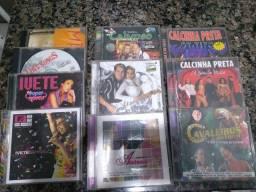 Aparelho de DVD, CDs e DVDs diversos