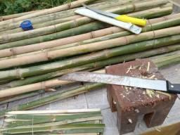 Vendo espetos/estacas bambu