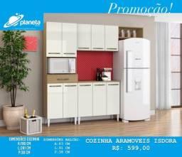armário de cozinha com balcão