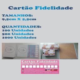 Cartão fidelidade / Convites.