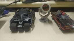 Batmóvel Shell + Batsinal + boneco Batman