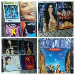 Cds e dvds pop,mpb ,eletrônico diversos