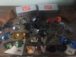 Óculos de sol diversos modelos. Solares