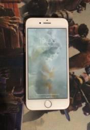 IPhone 8 256gb gold rosé impecável parcelo cartão