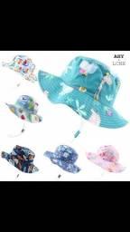 Chapéu com proteção UV (Novo)