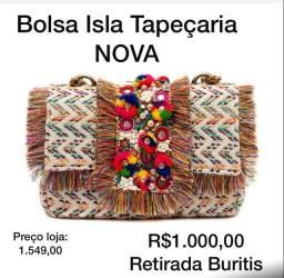 Bolsa Isla Tapeçaria
