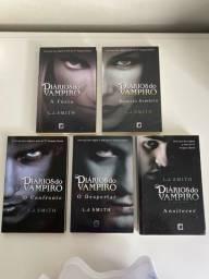 Kit livros The Vampire Diaries/ Diários do vampiro