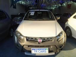 Fiat Strada Adventure 1.8 2018 Completa + Multimídia