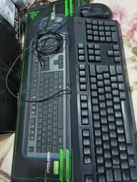 Kit Razer teclado e mouse