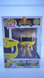 Funko POP 362 Yellow Ranger ( Power Ranger ) - Epic Toys Brasil