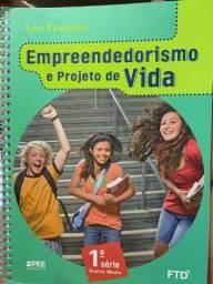 Livro empreendedorismo e projeto de vida