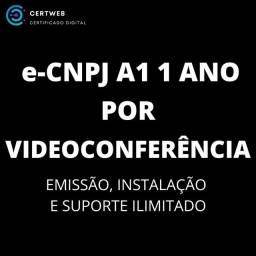 e-CNPJ A1 certificado digital