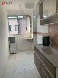 Apartamento com 2 dormitórios para alugar, 50 m² por R$ 550/mês - Campo Grande - Rio de Ja