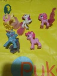 5 My Little Pony pequenos
