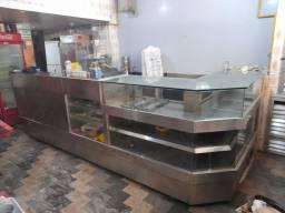 Balcão frigorifico para bar ou padaria
