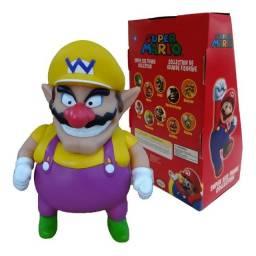 Título do anúncio: Bonecos Grandes 20cm  Wario Super Mario Bros 64 Original - Loja Natan Abreu