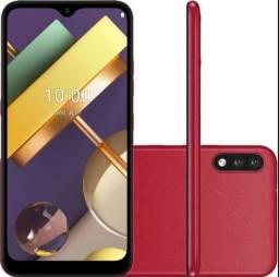 Smartphone K22+ 64gb 3gb 6.2 Vermelho lacrado garantia