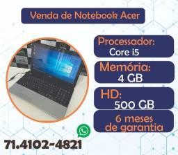 Notebook Acer telão 15.6