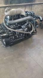 Motor  e caixa Scania 124 360
