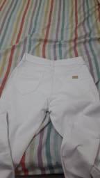 Calça Branca Novíssima ( Leia a Descrição )