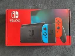 Vendo Nintendo Switch v2 + Gripcase Zerados na caixa.