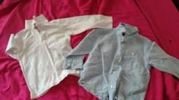 Kit Camisa manga longa 2 anos