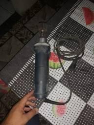 Retifica Makita 480w 25000 Rpm Funcionando + Brinde 15 Lixas