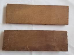 Tacos de madeira maciça de boa qualidade antigos