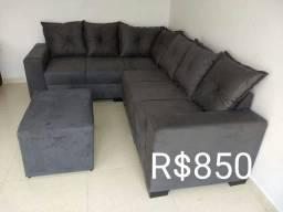 Faça seu orçamento sem compromisso sofá diretamente da fabrica