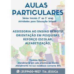 Aulas particulares / Acompanhamento Pedagógico