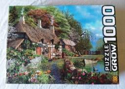 Quebra-cabeça Puzzle Casa no Lago - Linha de 1000 peças