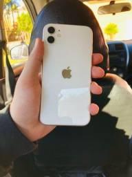 iPhone 11 64GB branco em perfeito estado