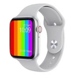 Smartwatch Iwo W26 Android Ios Tela Infinita 40mm Branco