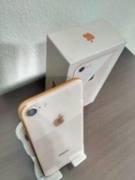 Apple iPhone 8 64 Gb Gold Original Sem Riscos
