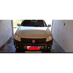 Fiat Strada, para vender logo.