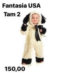 Fantasia de ovelhinha para menino