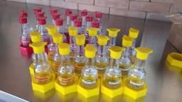 conjunto: 15 vidros para shoyu light + 15 vidros para shoyu  tradicional.