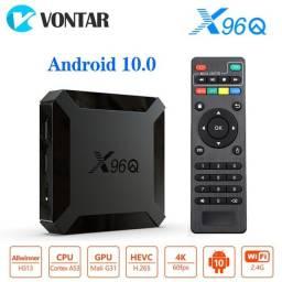 X96q Tv Box Android 10.0 2gb 16gb Allwinner