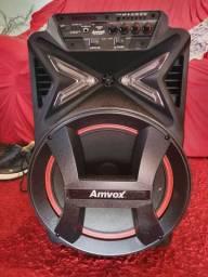 Caixa de Som Bluetooth Amvox, EXCELENTE!