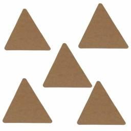 Placas triangulares artesanato