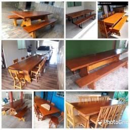 Mesas rústicas e Semi rústicas- Direto da fábrica