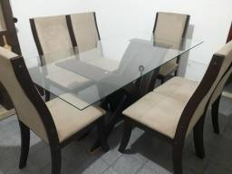Linda Mesa c/6 cadeiras