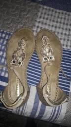 Melissa original e sandalia rasteirinha tanara