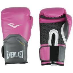 Luva Feminina de Boxe 12oz Everlast Rosa