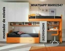 Montador de móveis profissional ligue ou chama no WhatsApp 995542845