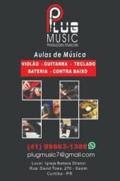 Aulas de Música - R$140,00
